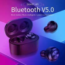 A6 bluetooth 5.0 Wireless Earphone Touch Waterproof Noise Cancelling Headset for Iphone Android