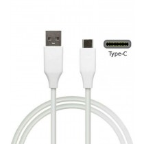 Type C - USB Charging & Data Cable for Smartphone - White
