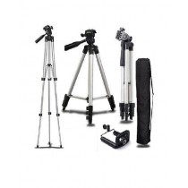 3110 - Tripod Stand For Camera And Mobile - Black