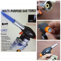 Flame Gun 915 Portable Safe Multifunctional Auto Ignition Flame Butane Gas Burner Torch for Hiking Camping Welding