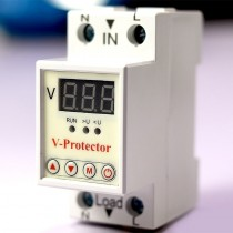 40A 230V Adjustable Voltage Relay Breaker with Over under voltage Protection
