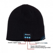 ireless Bluetooth Knit Hat Music Cap