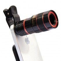 HD 12x Optical Zoom Camera Telescope Lens With Clip Universal lens DSLR Universal Product Mobile Phone