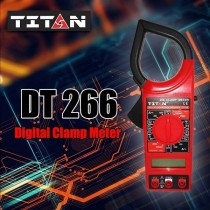 TITAN 266 Digital Clamp Meter 500V Insulation Tester