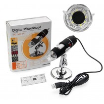 1000X 8 USB Digital Microscope Endoscope Camera Magnifier + Stand