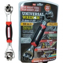 48 In 1 Universal Wrench Multi-Function Socket Wrench 360 degree Handy Adjustable Wrench