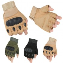 All Purpose Hiking Cycling Gloves - Half Finger - 1 Pair