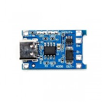 TP4056 5V 1A 18650 TYPE-C USB lithium Battery Charger Module Charging Board With Protection