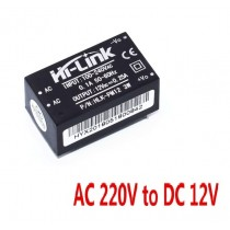 HLK-PM12 AC-DC 220V to 12V Buck Step Down Power Supply Module Converter Switch