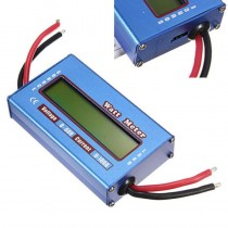 Digital LCD Watt Meter Battery Voltage Current Power Analyzer Tester 60V/100A For RC Helicopter