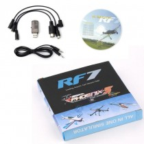 RF7 22 in 1 RC USB Flight Simulator Set