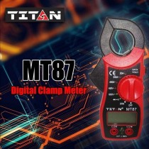 TITAN MT-87 Digital Clamp Meter Current AC DC Ammeter Multimeter Voltmeter