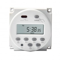 CN101A 12V Digital Programmable Timer LCD Power weekly 7days  Switch Relay 16A