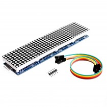 MAX7219 Dot Matrix Module For Arduino Microcontroller 4 In One Display