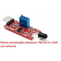 KY-026 Flame Sensor Module IR Infrared Flame Fire Detector