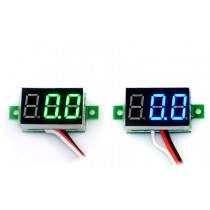 Digital Voltmeter dc 3-30V 2 wires Mini 0.36 Inch Voltage Panel Meter led Display