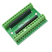 NANO V3.0 Controller Terminal Adapter Expansion Board IO Shield Simple Extension Plate For Arduino AVR ATMEGA328P