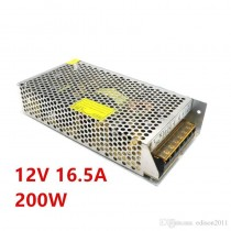 AC 220V to DC 12V 16.5A 120W Switch Power Supply