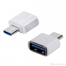 USB-C Type-C Male to USB-A Female OTG Adapter