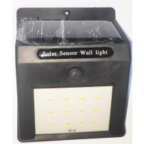 Rechargeable Solar Power LED Wall Light Waterproof Outdoor Garden Yard Street Pathway Home Security Lamp