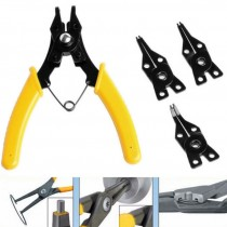 4 in 1 Snap Ring Pliers Plier Set Circlip Combination Retaining Clip
