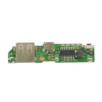 Power Bank Single USB 5V 2A Mobile Phone Charger PCB Board Lite