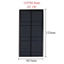 6V 0.6W Solar Panel for Cellular Phone Charger Home Light Toy etc Solar Cell DIY