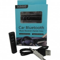 Universal Wireless Bluetooth Car Kit BT-450 3.5mm Aux Jack Audio Music Receiver Adapter with Mic