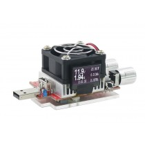35W dc battery load capacity tester resistor CC aging with Oled screen