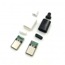 Type-C USB Male Jack Plug USB-3.1 Type C Connector With PCB Board Plugs
