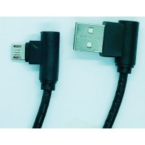 L Shaped Micro USB Data Sync Charging Cable for Samsung Other Android Phones
