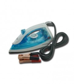 12V DC electric IRON /SPRAY IRON150W for battery powered