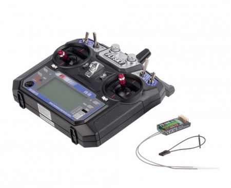 Flysky FS-i6 FS I6 2.4G 6ch RC Transmitter with Receiver For RC Helicopter Plane Quadcopter Glider