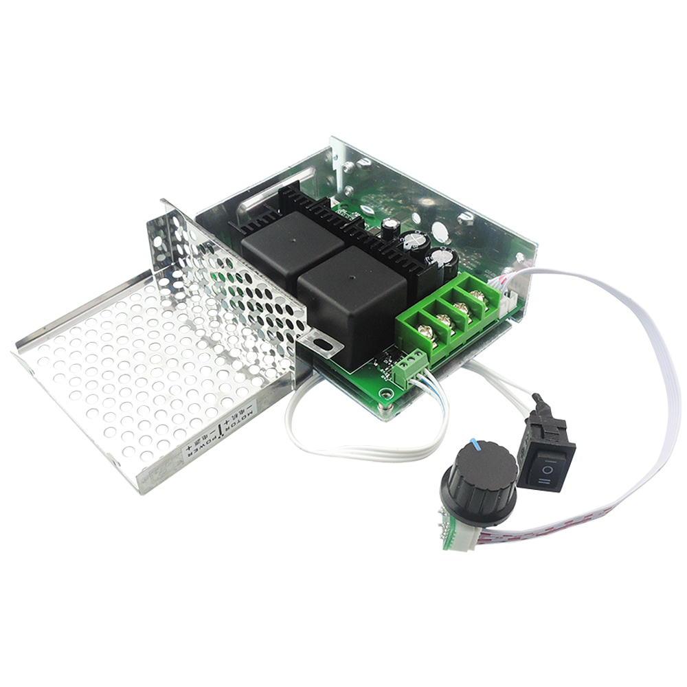 Dc 10 50v 40a pwm dc motor speed control controller for Speed control for dc motor